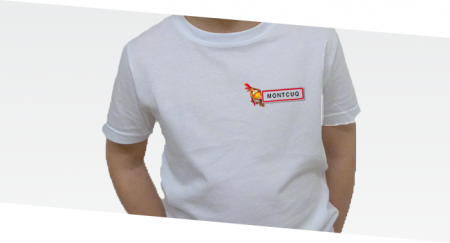--></a> T-shirt Enfant Poulet Montcuq